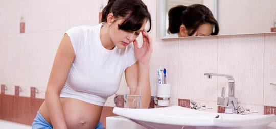 El embarazo altera el flujo vaginal