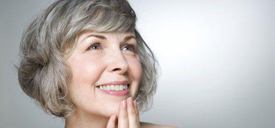 Mujer en la menopausia