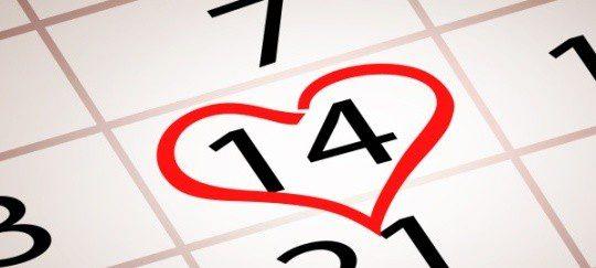 El 14 de febrero se celebra el día de los enamorados