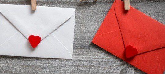 Una carta de amor puede ser un buen recuerdo