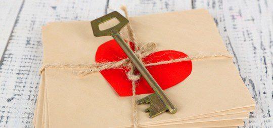 Una carta de amor es un detalle muy romántica que ha caído en el olvido