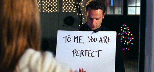 Escena de la película 'Love Actually'