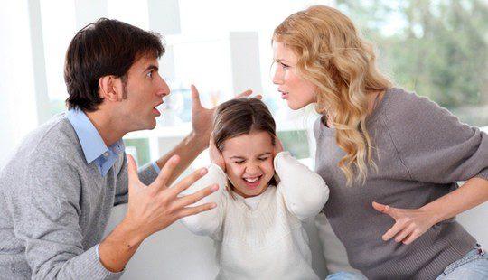 Los padres deben evitar cualquier trastorno en los hijos