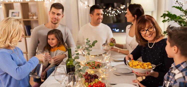 Cuando hay cuñados las cosas se complican en las cenas familiares