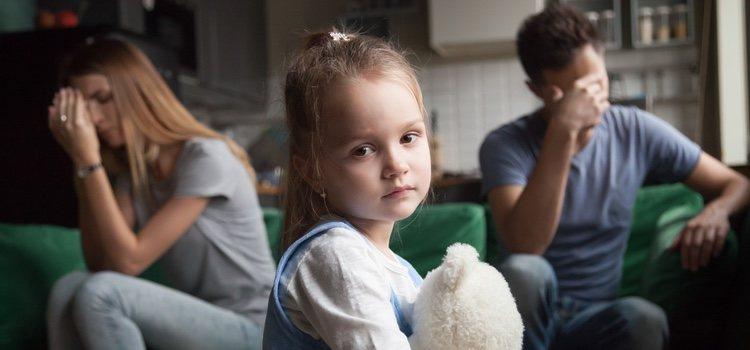 El divorcio puede ocasionar bastantes problemas en la familia