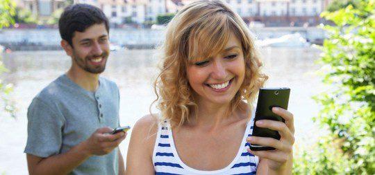 Encuentra a tu pareja a través de las aplicaciones
