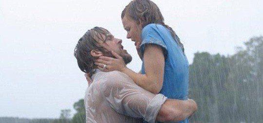 Ryan Gosling y Rachel McAdams en 'El Diario de Noah'