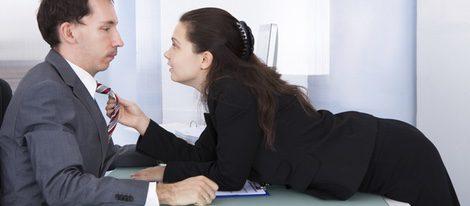A veces se mantiene sexo por placer con tu jefe, pero se debe tener cuidado