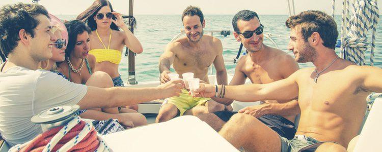 Una fiesta en alta mar para garantizar una gran fiesta, o bien algo más tranquilo