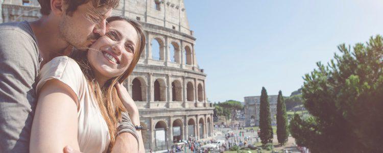 Roma, un lugar idóneo para disfrutar con tu pareja