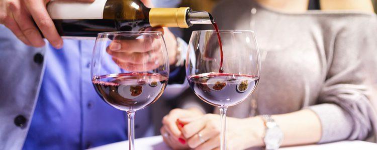 Una copa de vino es suficiente