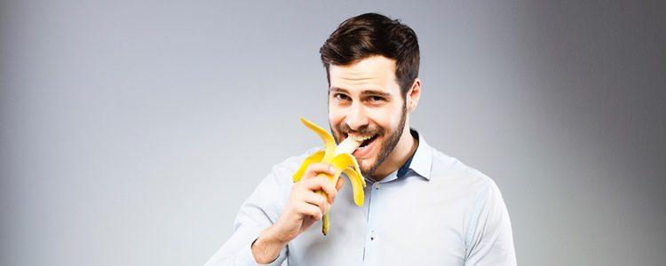 El plátano es un alimento muy importante porque reduce el estrés