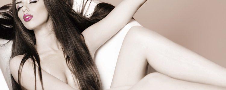 La mujer lubrica durante los preeliminares
