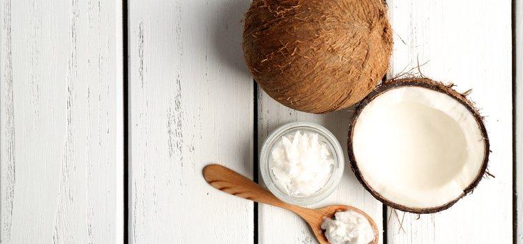 El aceite de coco se puede utilizar como lubricante casero
