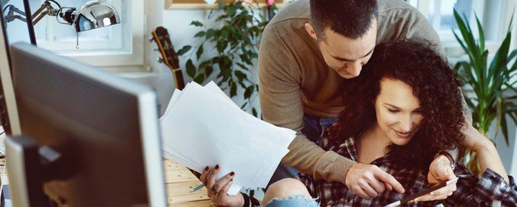 Trabajar en pareja puede ser muy romántico