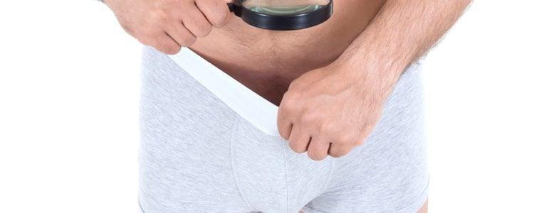 Un hombre con pene de sangre puede exhibir su potencial sexual