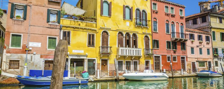 Venecia suele ser un destino ideal para casarse