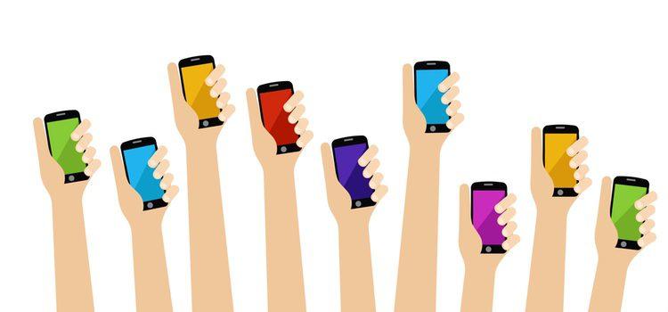 Estamos tan acustumbrados a los teléfonos móviles que ya no sabemos vivir sin ellos