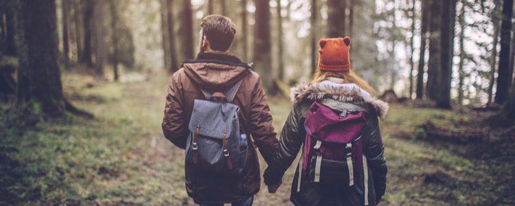 Escápate con tu pareja a las zonas más íntimas de la naturaleza