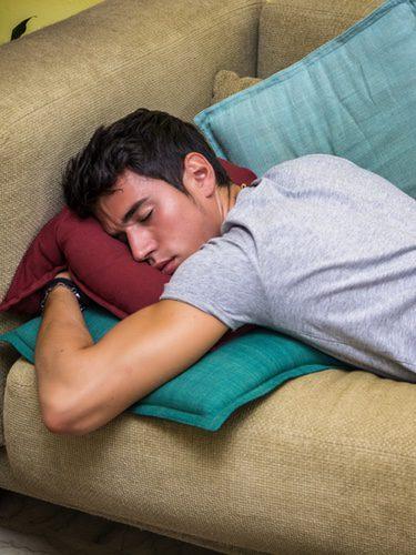 La pérdida de semen se produce en la fase más intensa del sueño