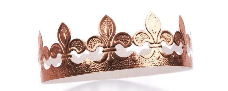 Quédate con la corona porque te dará mucho juego en otras ocasiones