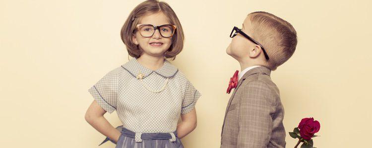 Hasta los niños más pequeños en los colegios celebran el 14 de febrero