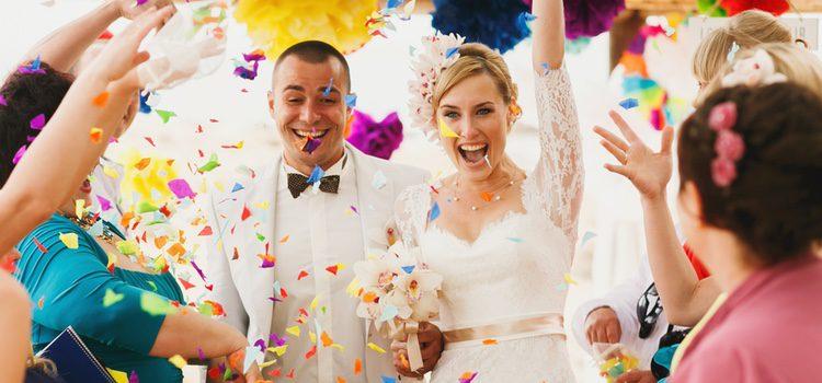 Para que la boda no se os vaya de las manos, es necesario que pongáis un número máximo de invitados
