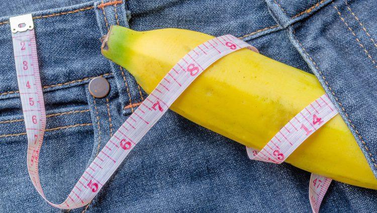 Los penes tipo plátano siempre son muy llamativos