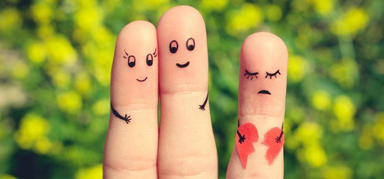 La infidelidad es una de las principales causas de ruptura