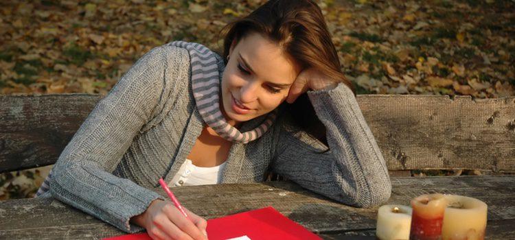 A través de una carta los sentimientos pueden plasmarse de una manera más sincera