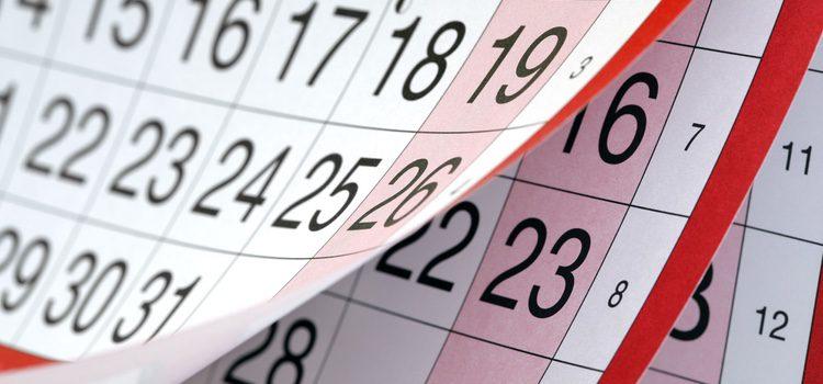 Es necesario llevar un control del ciclo menstrual