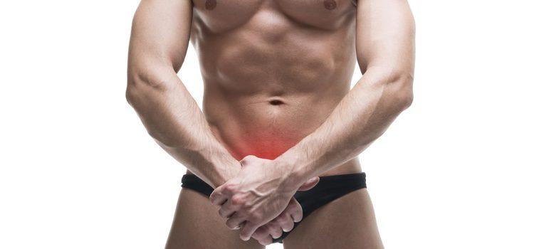 En el pene también puede sufrirse lesiones cutáneas