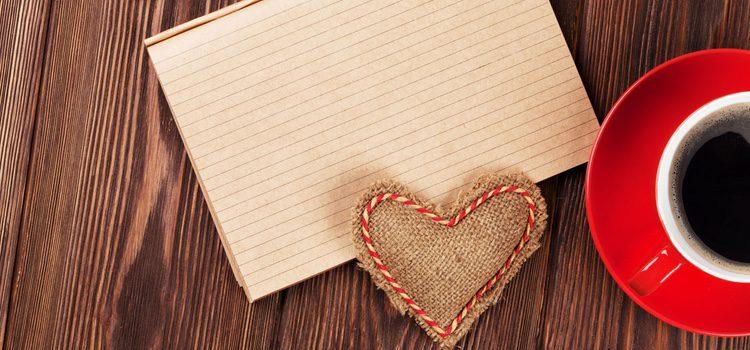 En el interior de la cartas deberás ser sincera con tus sentimientos
