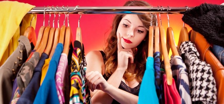 Elegir la ropa es muy importante para ganar seguridad en ti misma