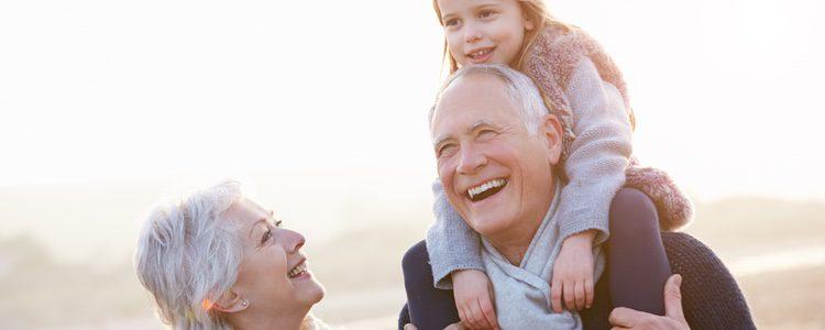 Nietos felices, abuelos felices