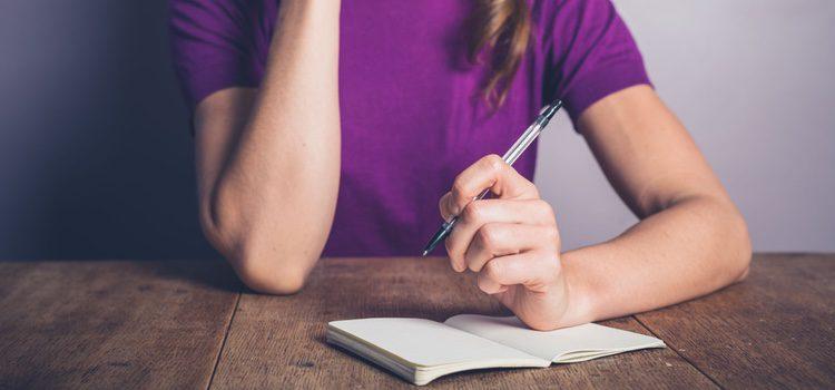 Escribe tus sentimientos más profundos