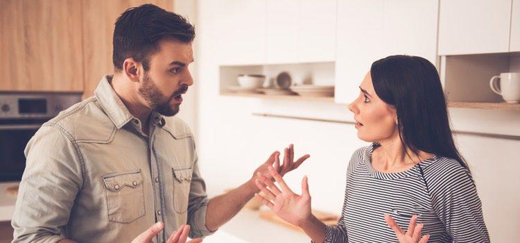 La convivencia puede generar discusiones