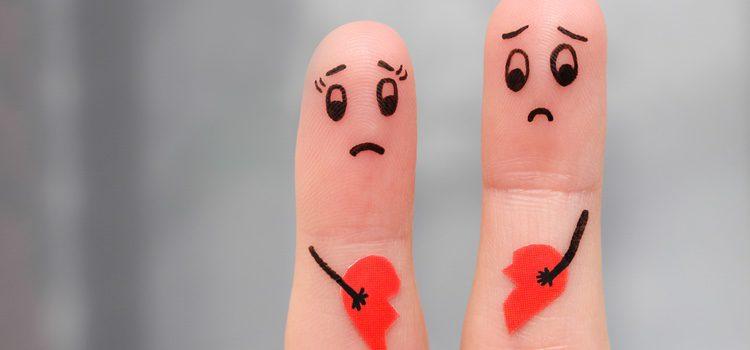 A veces es solo un miembro de la pareja el que deja de sentir