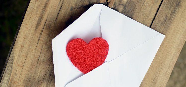 Si no pasáis por vuestro mejor momento, prueba con una carta de arrepentimiento donde le muestres todo tu amor