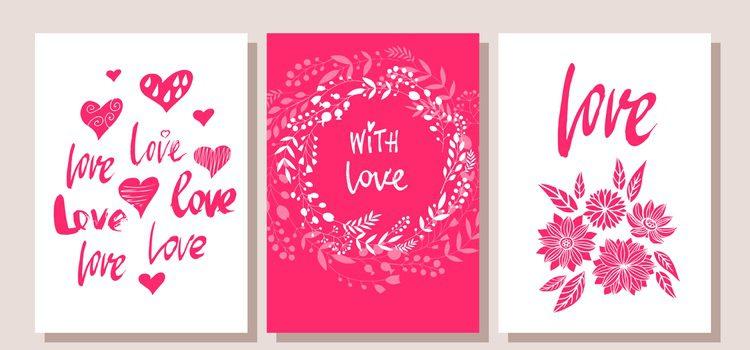 Tienes muchas opciones para hacer una bonita postal de San Valentín