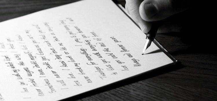 Siempre se puede recurrir a las clásicas cartas de amor