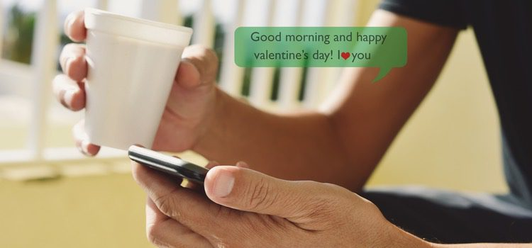 Recurre a los mensajes de WhatsApp para felicitar San Valentín