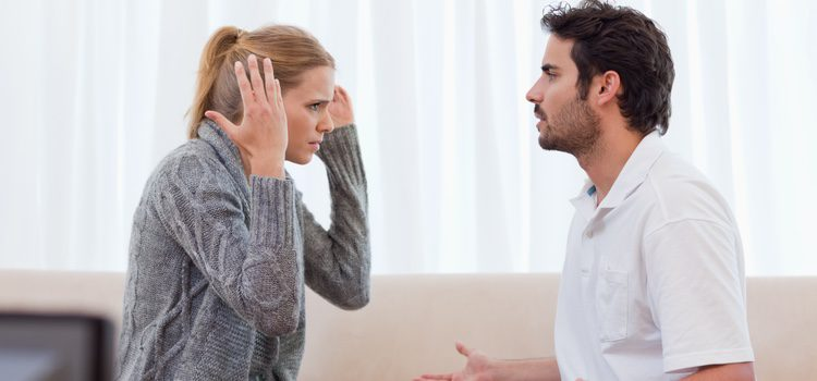 Las personas inestables emocionalmente pueden llegar a ponerse agresivos si no se hace lo que ellos quieren