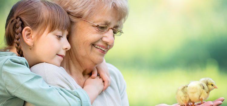 Cuantas más historias tengan que contar, más se ganarán el amor de sus nietos