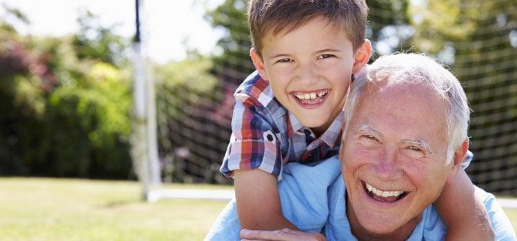 Sentir el apoyo de los abuelos es algo fundamental para los niños
