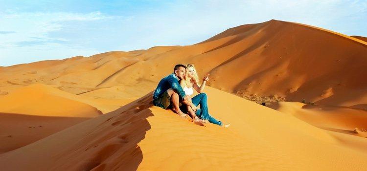 En el continente africano hay multitud de destinos para pasar unos días en pareja