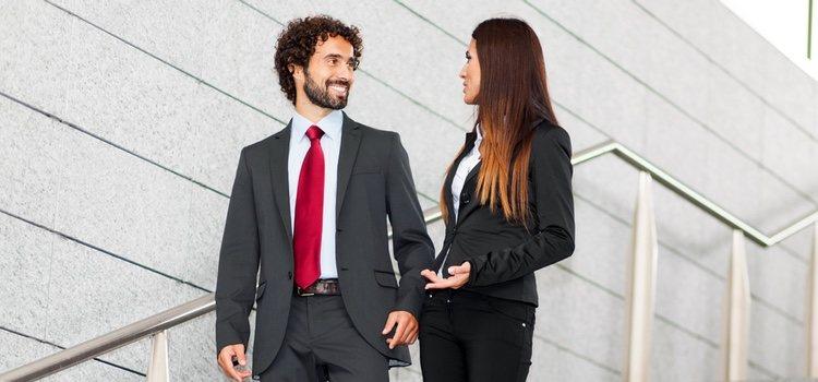 Tienes que tener en cuenta que tendréis una relación sentimental y profesional