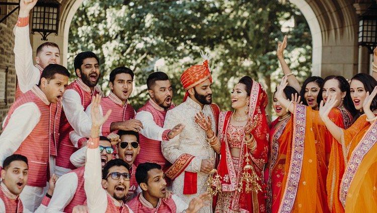 El papel de la familia es muy importante en este tipo de bodas