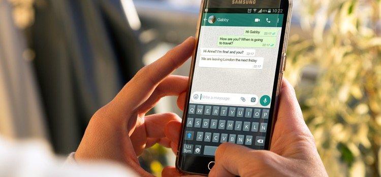 El encuentro se concreta vía WhatsApp o aplicaciones similares
