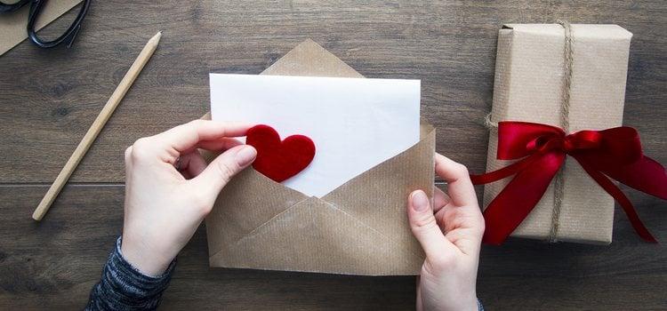 Es una carta en la que tienes que poner todos tus sentimientos